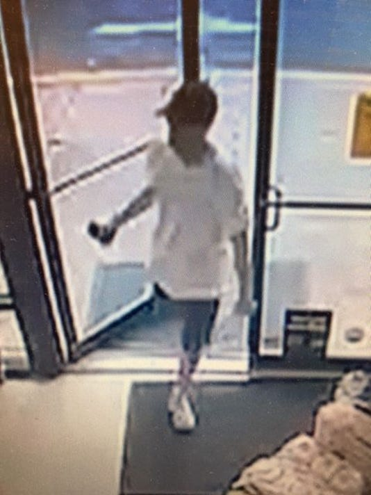 Dollar store attempted robbery