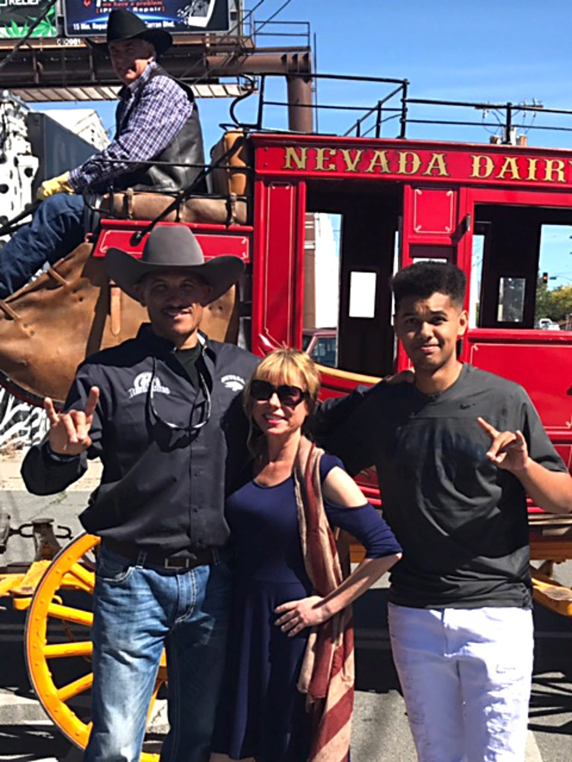 The Norvell family at this year's Reno Rodeo.