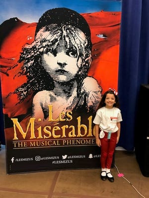 """Sophie Knapp of Teaneck will be performing with the """"Les Misérables"""" national touring company."""