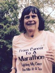 Colleen Johnson runs to bring awareness to endometrial