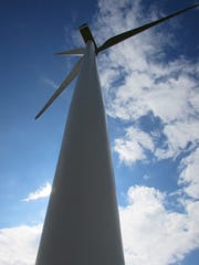 On a tour of the Benton County wind farms, offered