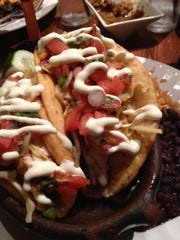 Puffy fish tacos are always a winner at Agave in Lewes.