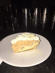 Peanut butter pie at Hog & Hominy