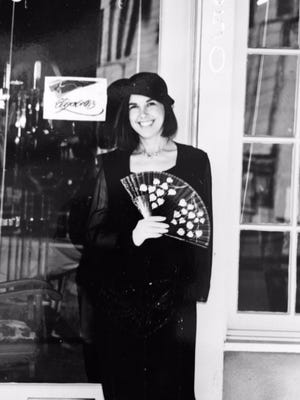 Elizabeth Schaaf, owner of Elizabeth's Timeless Attire on the day she opened her boutique 30 years ago.