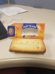 The lunch reporter Gray Hughes picked out for his pumpkin