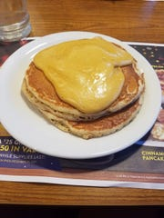 The pumpkin pancakes that bested reporter Gray Hughes