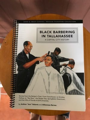 """""""Black Barbering in Tallahassee, A Capital City History"""" was recently released by the John Gilmore Riley Research Center and Museum"""
