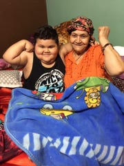 Isaiah Hernandez, who was diagnosed with leukemia in 2015 and his grandmother, who was diagnosed with stage IV gastric adenocarcinoma cancer in April 2017.