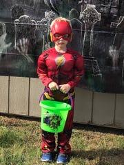 Adrian Peters, 5, Flash