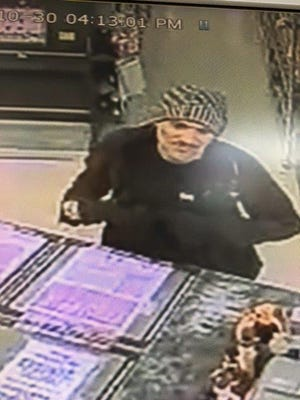 St. Clair County law enforcement is seeking help identifying this man, reported to be a person of interest in a felonious assault Monday night.