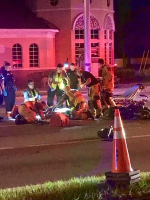 Melbourne man killed in motorcycle accident near Downtown Melbourne.