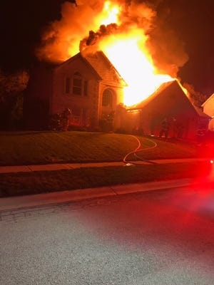 Three people escaped from a house fire in the11000 block ofTimberview Drive early Wednesday.