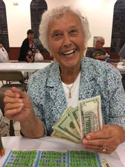 Knights of Columbus San Marco Council #6344 Bingo runs every Thursday through Nov. 16 with doors opening at 5:30 and Bingo starting at 7 p.m.  This event is open to the public. Above: Ellie Leydecker of Marco Island.
