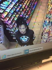 Chambersburg Police say the person pictured may have