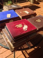 A set of well-preserved scrapbooks comprise the D.W.