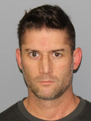 Richard Giacobone, a Palisades Park police officer, was arrested on charges of drug possession.
