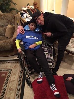 Om Parikh of Monroe had a visit from YouTube sensation Roman Atwood on Sunday.