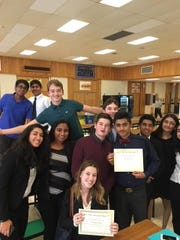 Wardlaw+Hartridge model UN Club members earn recognition.