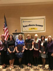 The Women in Municipal Government honorees