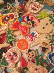 Christmas cookies can be found at several upcoming