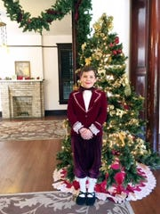 """Mattus Sulik portrays Fritz in the """"Nutcracker in the Park"""" performances by the Corpus Christi Concert Ballet at the Galvan House."""