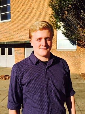 Waynesboro's Isaac Edwards, city/county student-athlete nominee, fall 2017.