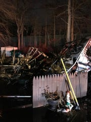 A dog was killed in a mobile home fire December 6, 2017.