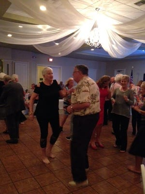 SBC residents Sandy and Barry Lee were spotted dancing the night away.