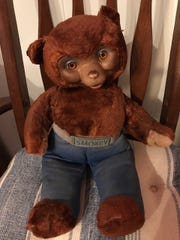 Teri Alfieri's vintage Smokey the Bear doll is still in excellent condition.