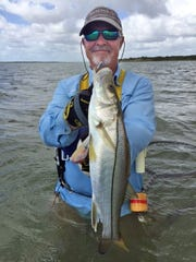Scott Murray caught this snook while fishing Baffin Bay.