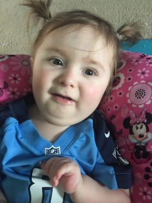 Peyton Minor has been diagnosed with a rare muscular disease called SMA.