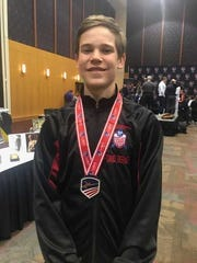 David Tierney, a sophomore at Barron Collier, finished eighth out of 283 fencers in the cadet foil division at the Junior Olympics in Memphis, Tenn. last weekend.