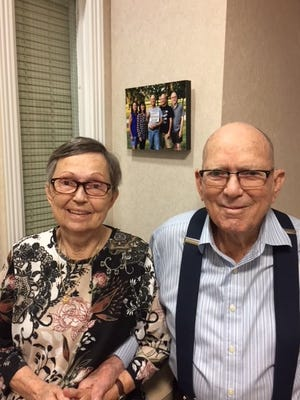 Dale and Lani Thompson celebrated their 70th wedding anniversary.