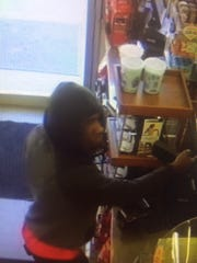 The suspect in an armed robbery at a Swartz Convenience