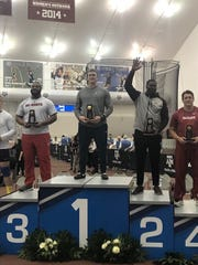 Alton Clay finished second at the NCAA Indoor Track