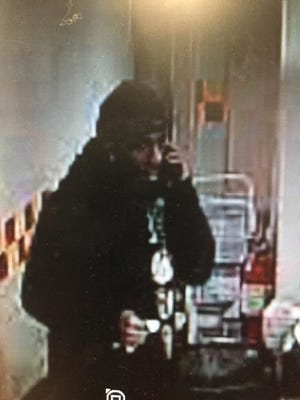 Northeastern Regional Police are looking for man in connection with a theft at the Rutter's in Manchester.