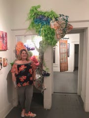 Lori Edwards, artist and education and outreach at K Space Contemporary