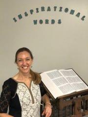 Tara Ferguson, Humanities Department Head.