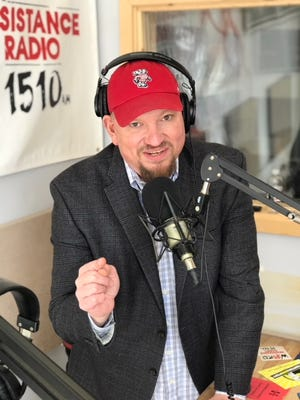 Mike Crute, one half of the Devil's Advocates radio show, is running for governor.