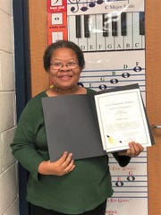 The Montgomery County Board of Education recently recognized Sandra Ware of E.D. Nixon Elementary School as one of its Employees of the Month.