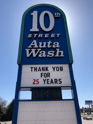 The 10th Street Autawash has been acquired by Silverstar Car Wash.