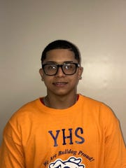 Samuel Rodriguez, a junior at Yonkers Middle High School,