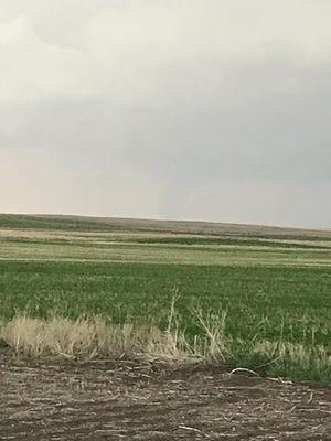 Tornado near Vilas, South Dakota.