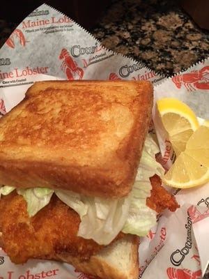 Cousins Maine Lobster offers a haddock sandwich at the first brick-and-mortar franchise in the country, located at 1932 Almaville Road in Smyrna.