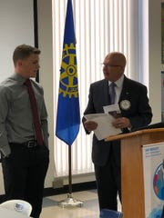 Will Scaggs was recently honored by the Batavia Rotary
