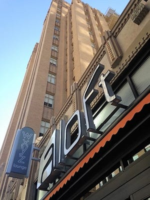 The Aloft Hotel in the renovated Bassett Tower in Downtown El Paso is scheduled to open Thursday.