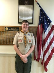 Owen D'Aprile earned his Eagle Feb. 19.