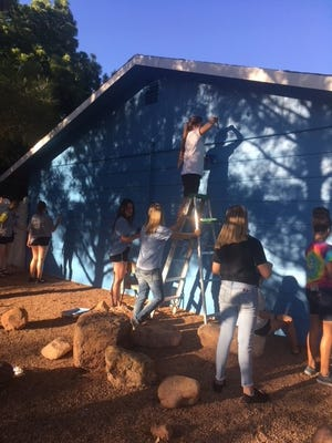 Zions Bank's Paint-A-Thon celebrated its 28th anniversary this year.