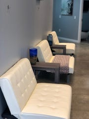 Inside Vitality IV, Mass Ave.'s only IV therapy center, which opens at 749 Mass on June 1, 2018.