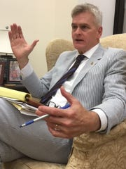 Sen. Bill Cassidy, R-La., who led the effort to celebrate National Seersucker Day on Capitol Hill, called it a tradition that's part of American culture.